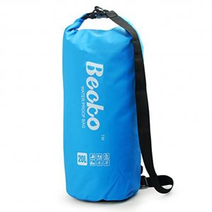 Becko Blue Dry Bag, Waterproof Case Pouch Include Shoulder