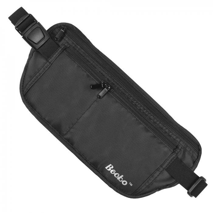 RFID Blocking Money Waist Belt