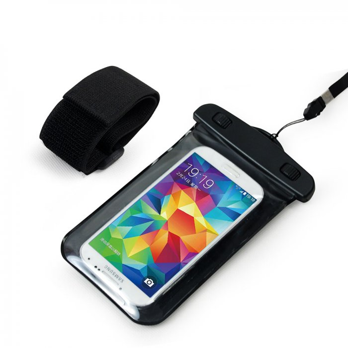 "4.7"" Waterproof Cell Phone Pouch with Arm Band"