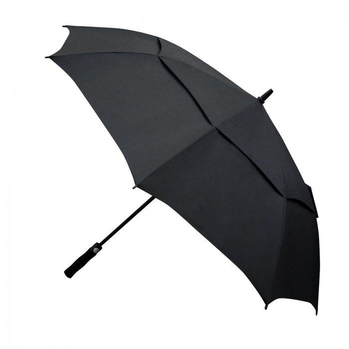 Becko 54 Inches Supersized Automatic Double-canopy Umbrella