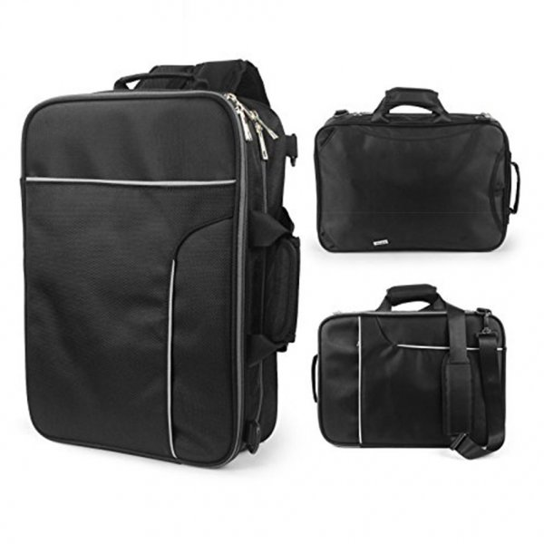 Becko 3 In 1 Padded Single-shoulder Carrying Laptop Backpack